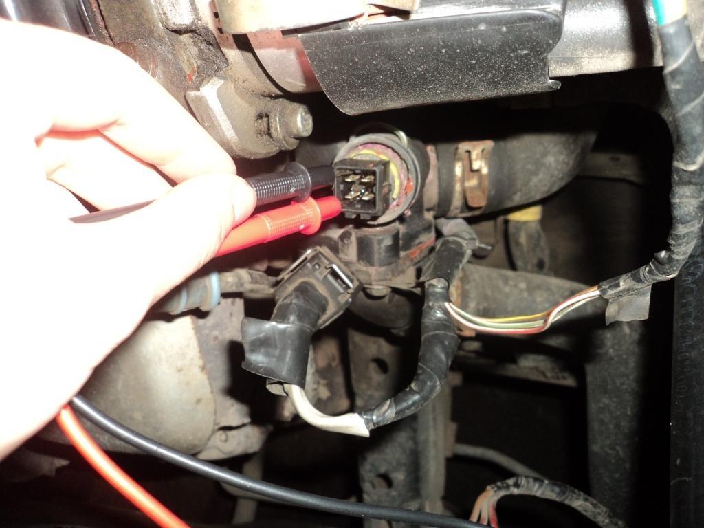 Проверка датчика температуры охлаждающей жидкостиcheck the temperature sensor coolant
