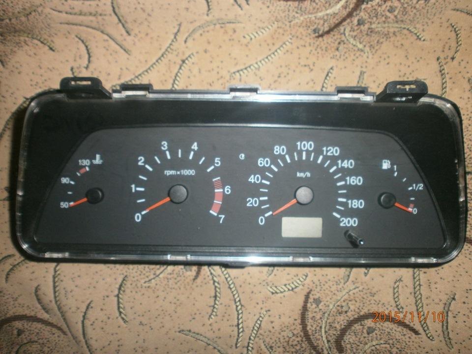 Фото №10 - панель приборов ВАЗ 2110 тюнинг