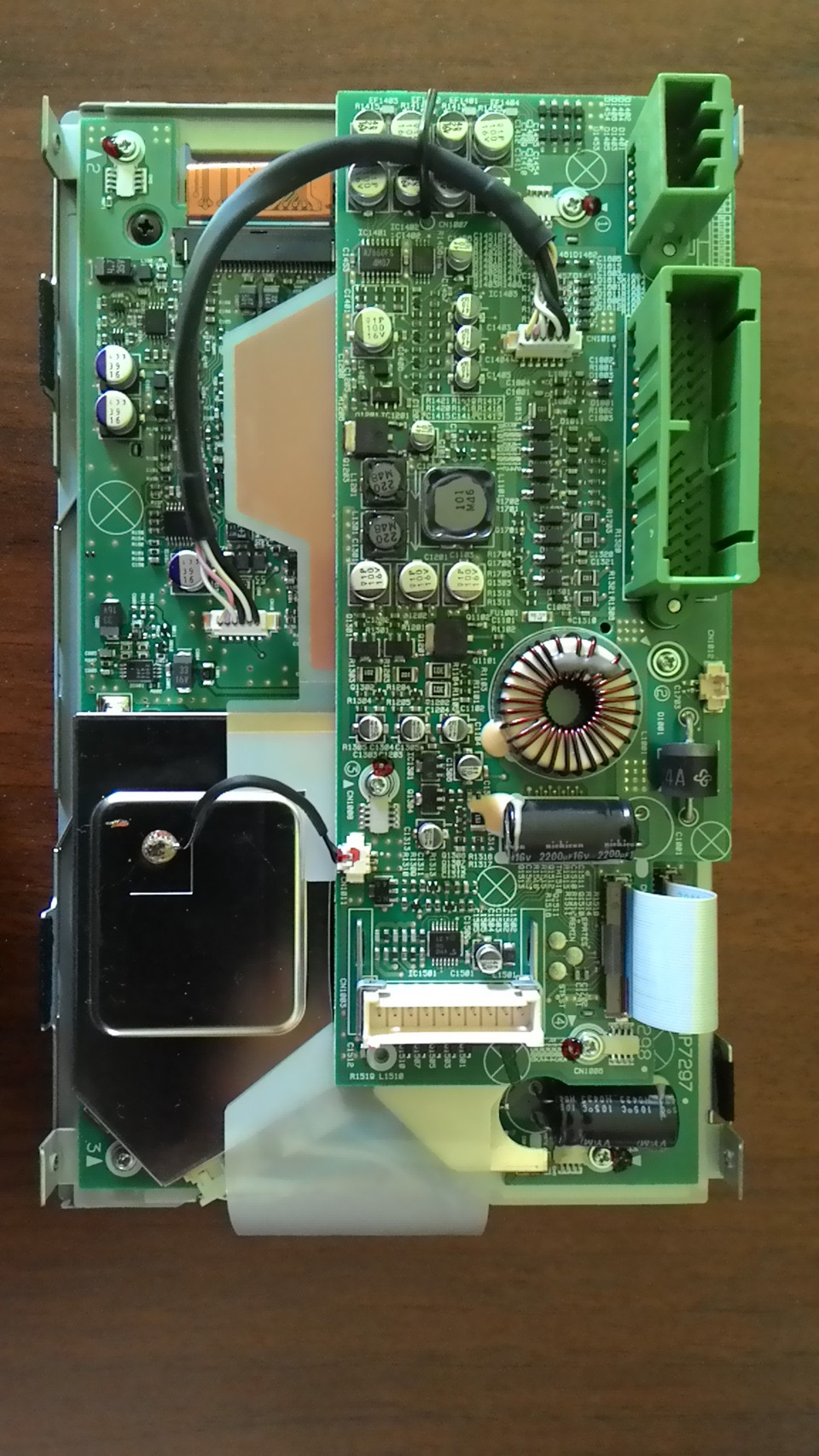 Не работает дисплей магнитолы после химчистки салона