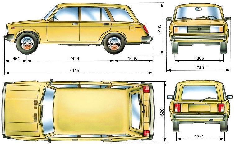 ваз 2104  авто