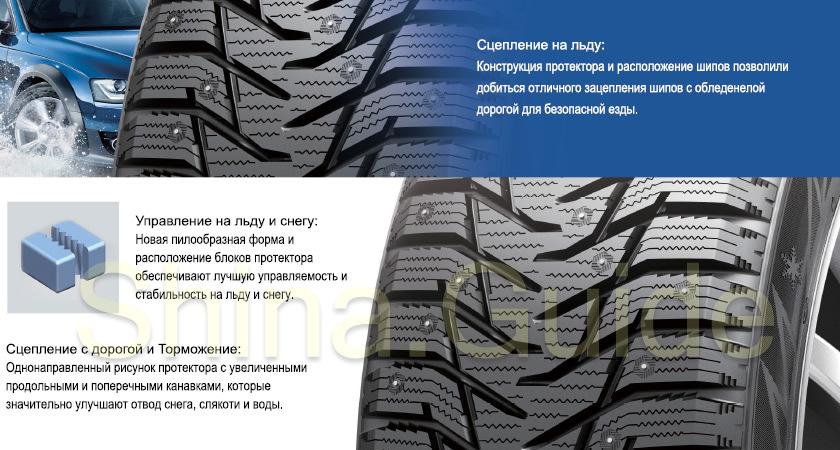 «имн¤¤ шина Sailun Ice Blazer WST3 225/60 R17 103T - фото 8
