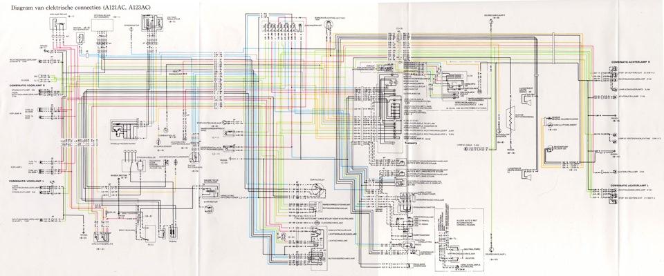 Схема проводки / Electric