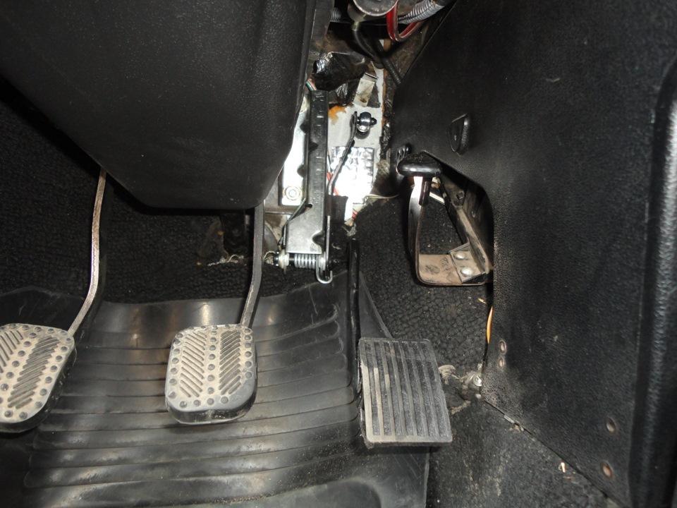западает педаль газа ваз 2106 исподнее белье