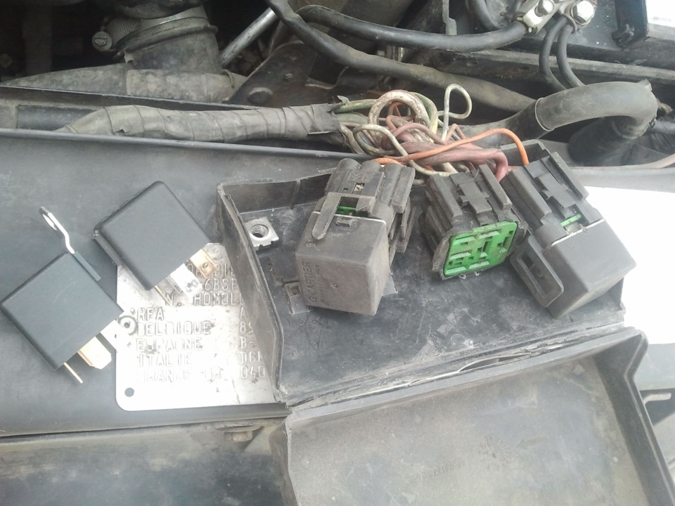 peugeot 605 не включается вентилятор радиатора