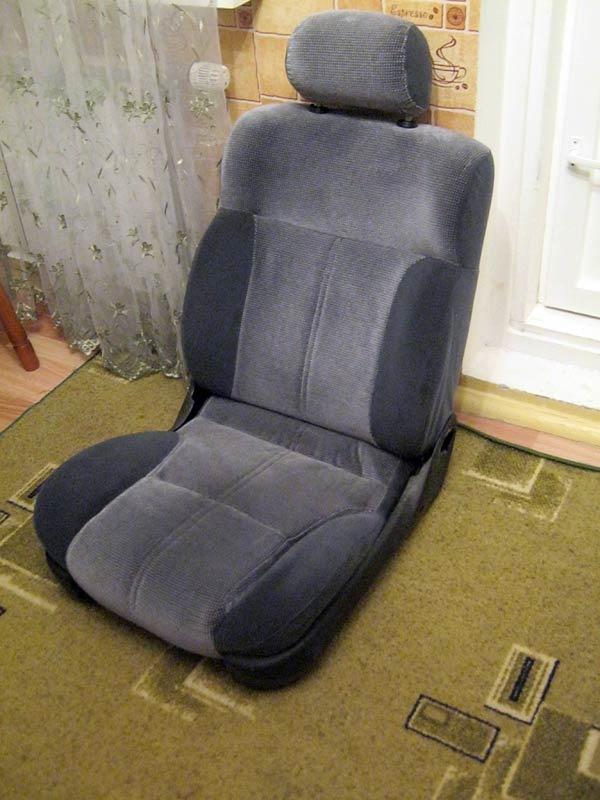Сделать автомобильное кресло своими руками