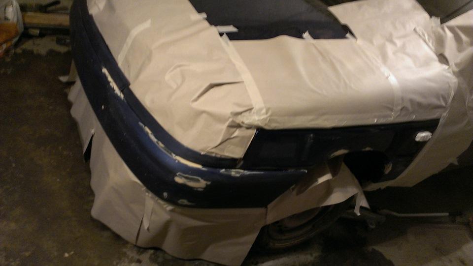 Как покрасить бампер из баллончика своими руками ваз 2110 24