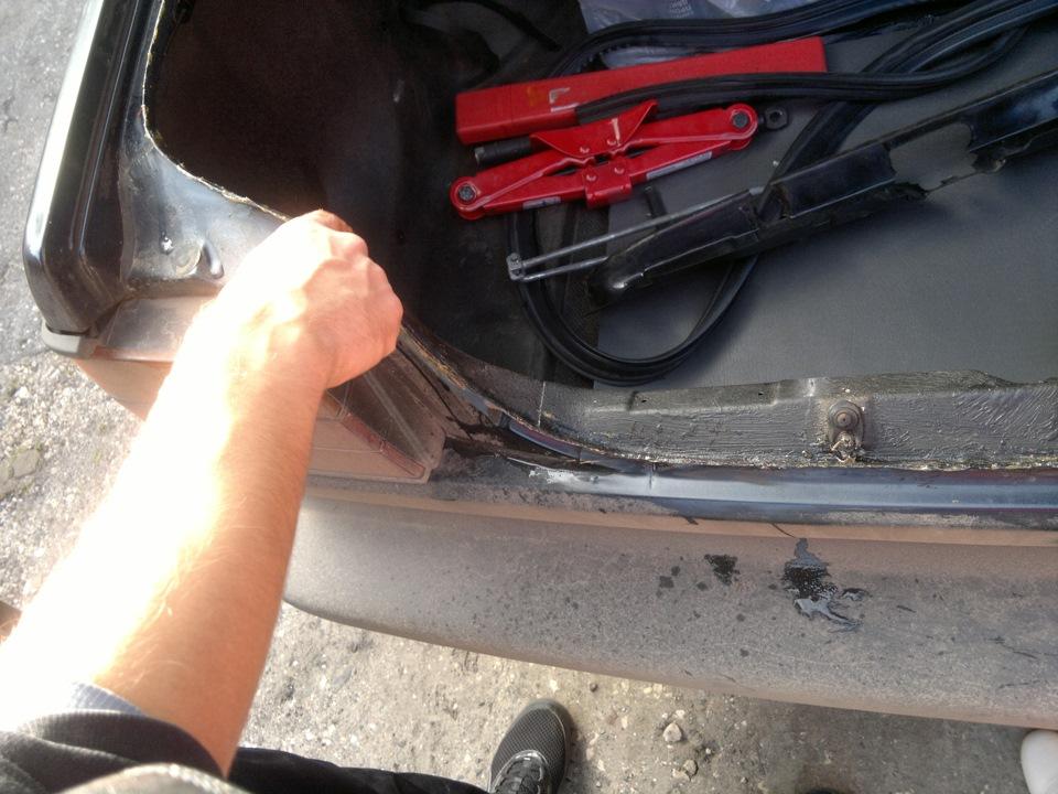 вода в багажнике джетта 2 фольксваген