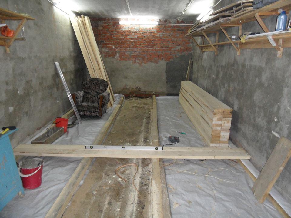 Деревянный пол в гараже | Форум: дом и дача - ForumHouse