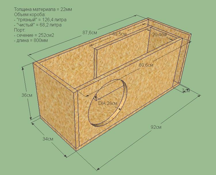 этом короб для сабвуфера 20 дюймов игры
