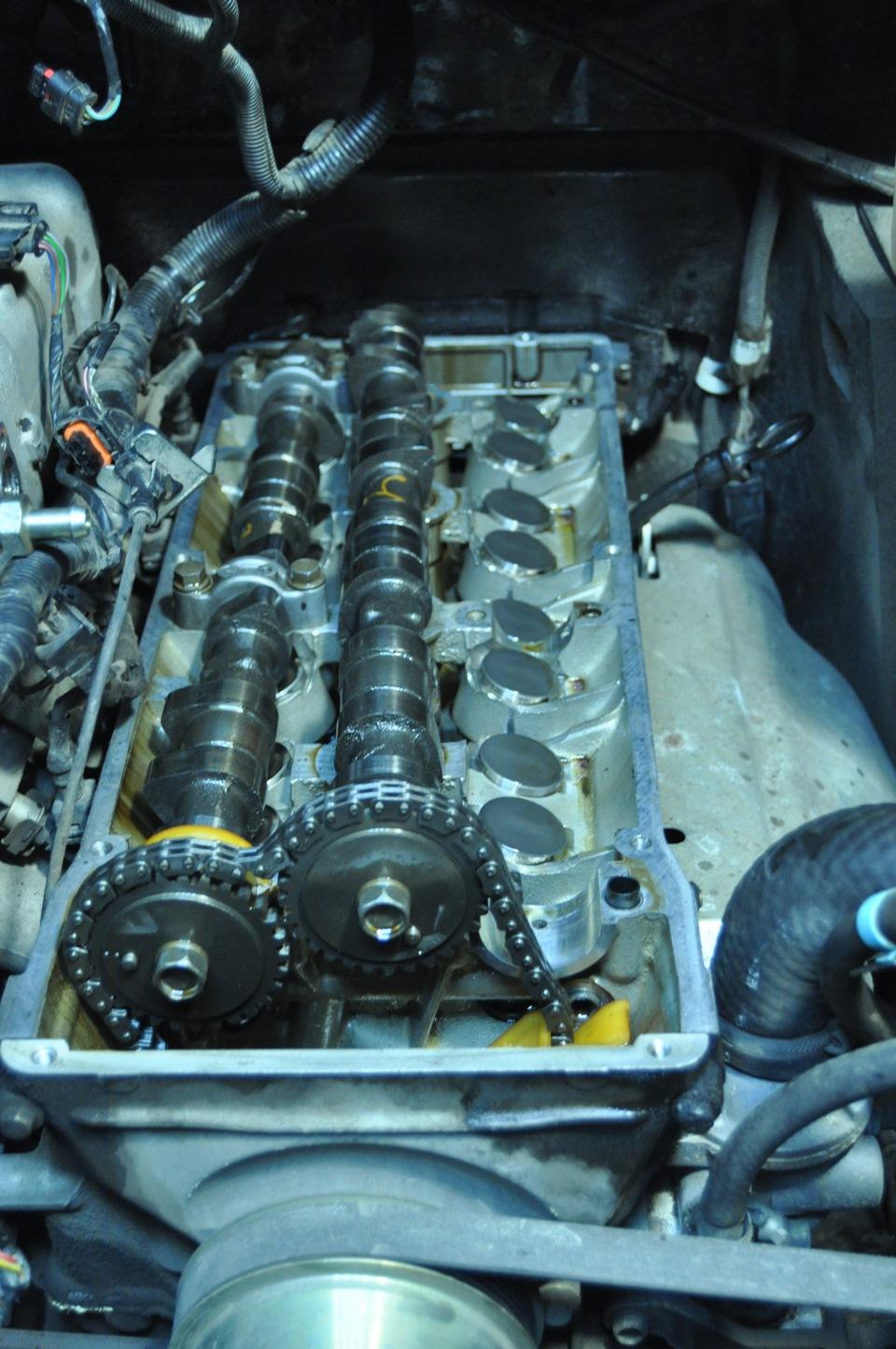 Замена гидрокомпенсаторов на 405 двигателе своими руками 31