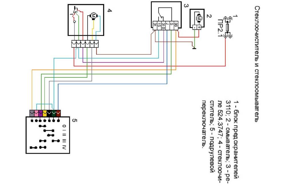 Схема подключения 3747