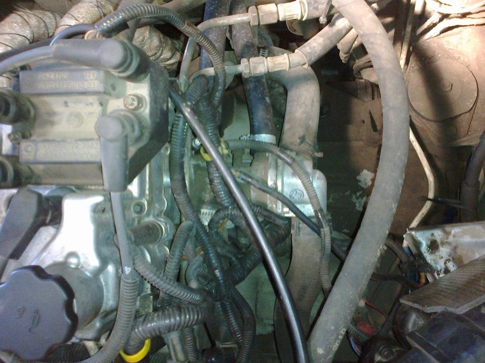 Фото №12 - установка термостата от гранты на ВАЗ 2110