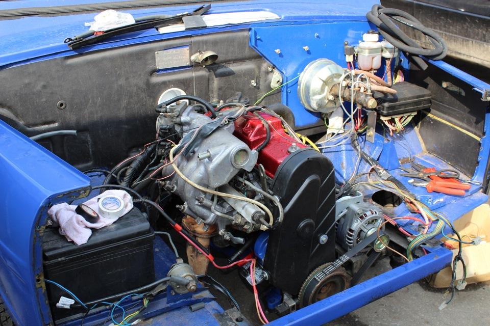 ваз 2111 двигатель
