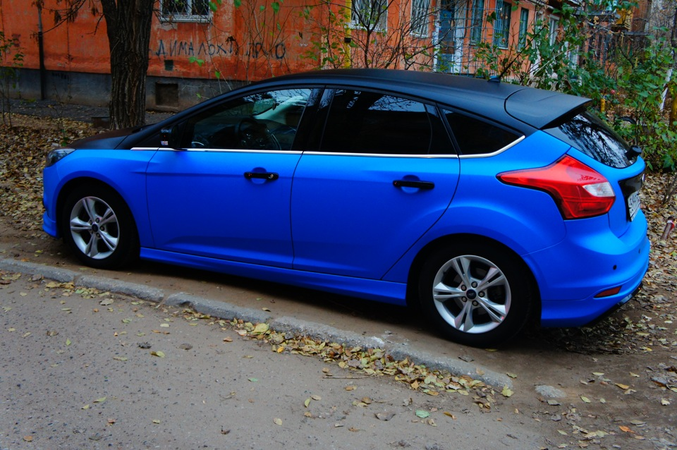 Форд фокус синий фото