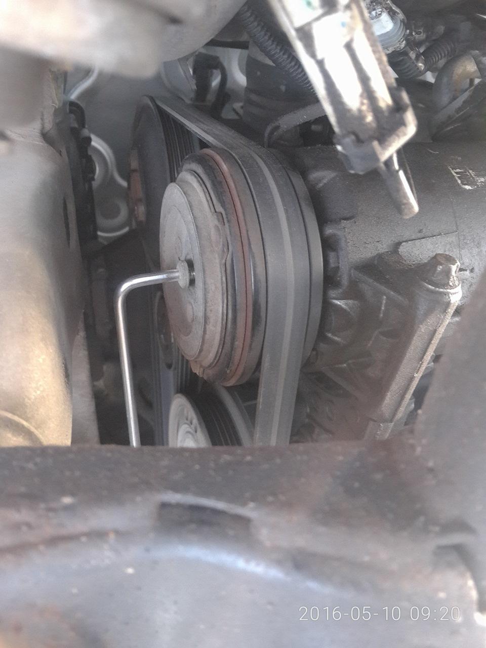 Ремонт компрессора кондиционера опель зафира