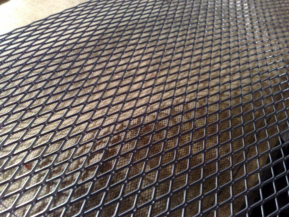 Как сделать сетку для решетки на радиаторы 384