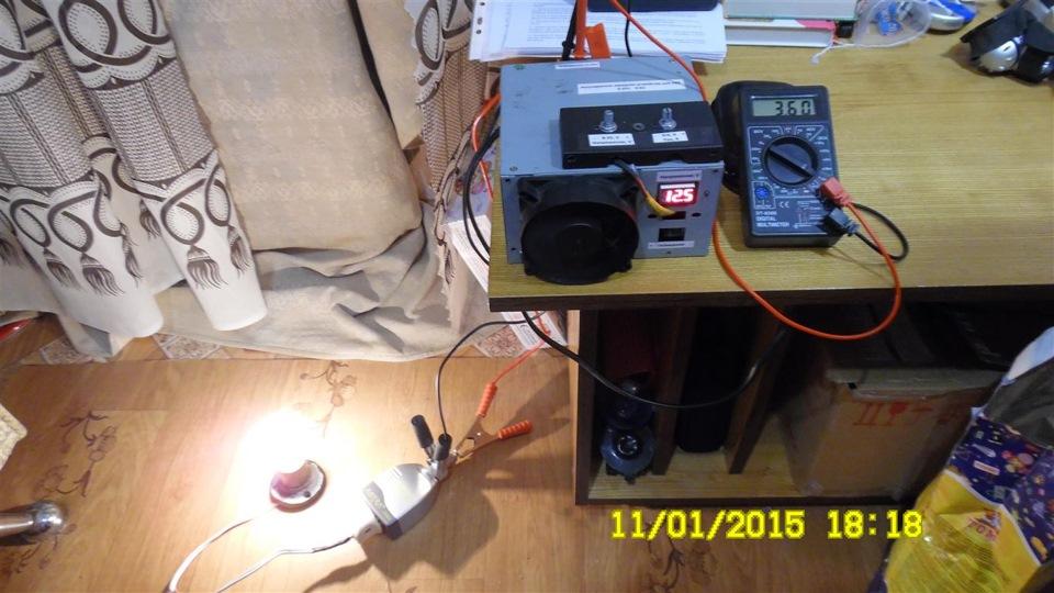 Как сделать с блока питания компьютера зарядное устройство