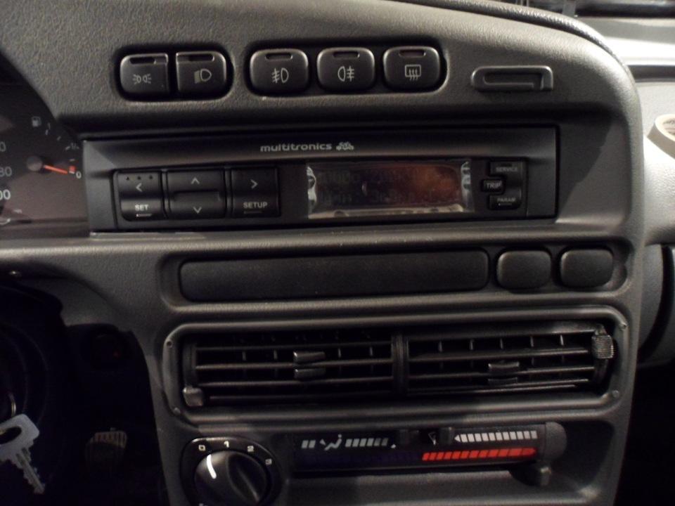 Подключение парктроника- к МК Multitronics X140 можно дополнительно подключить парковочные радары Multitronics для...