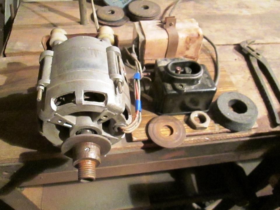 Как сделать циркулярку из двигателя от стиральной машины