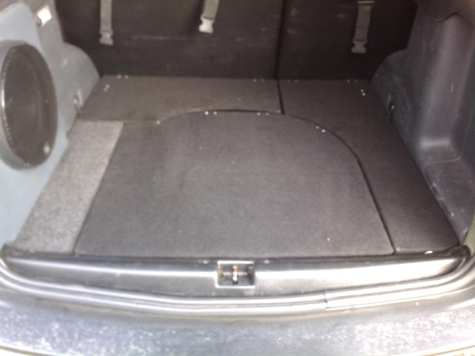 Органайзер в багажник рено дастер 4х4 своими руками