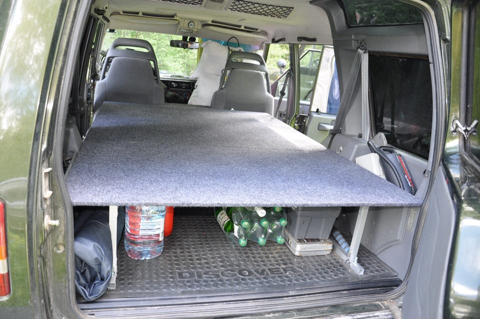 Спальное место своими руками в машину