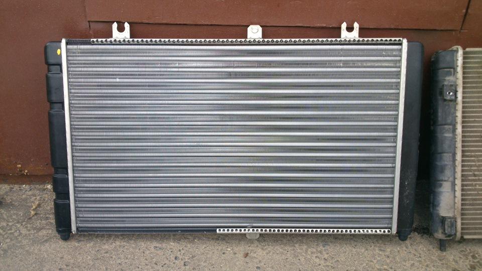 Замена радиатора охлаждения на приоре с кондиционером