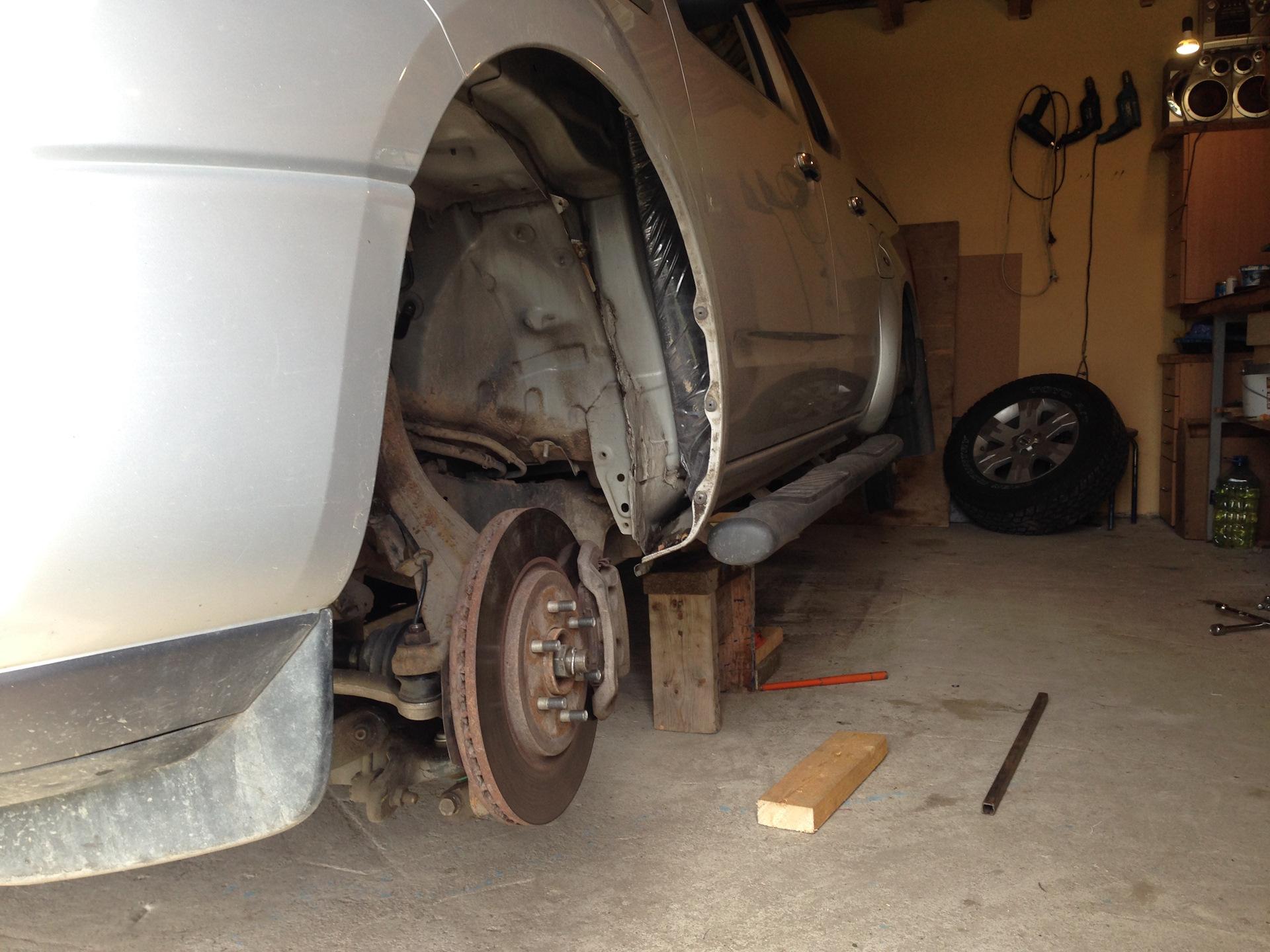 замена подушек двигателя газ 3307
