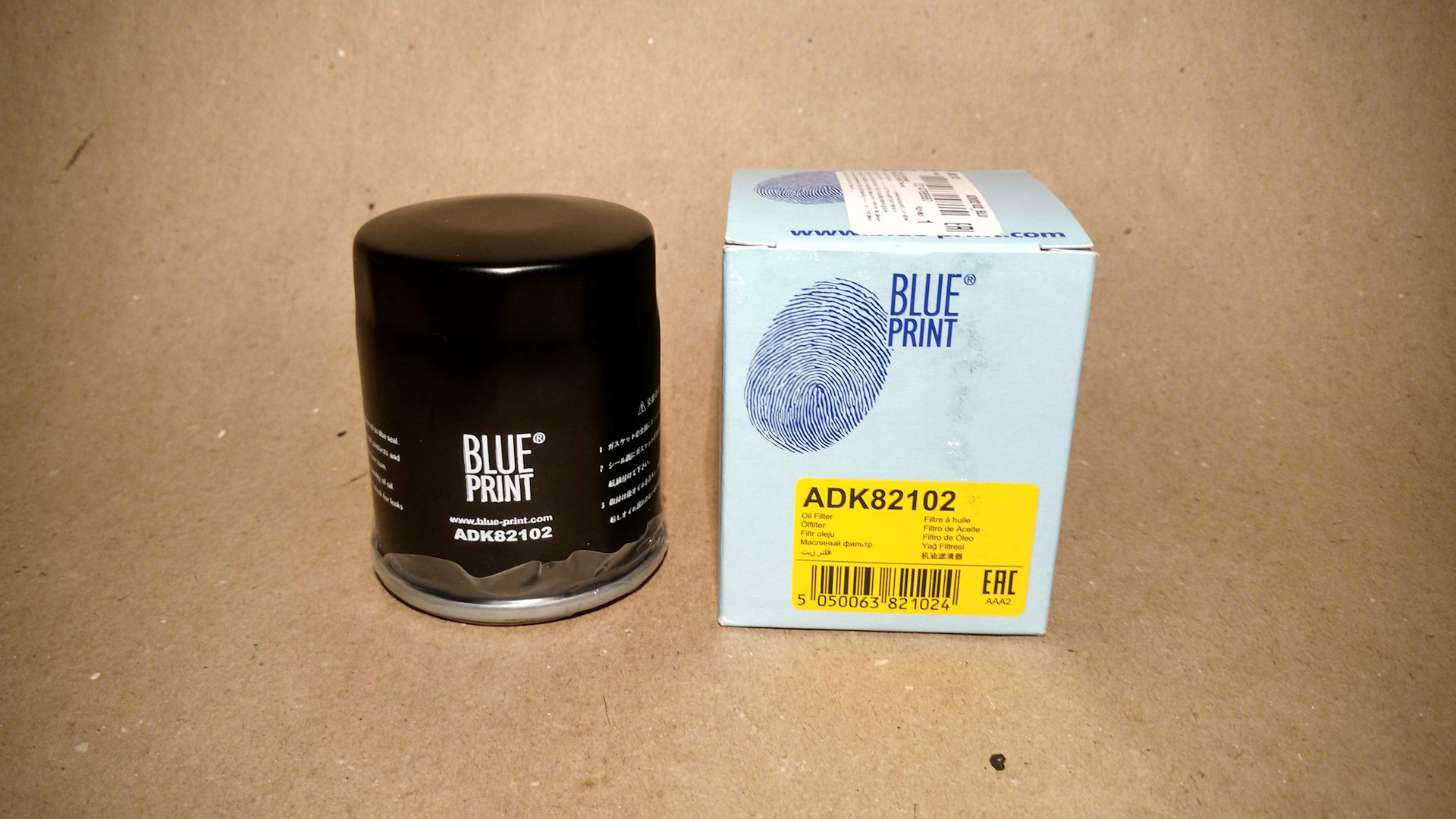 pack of one Blue Print ADT32109 Oil Filter