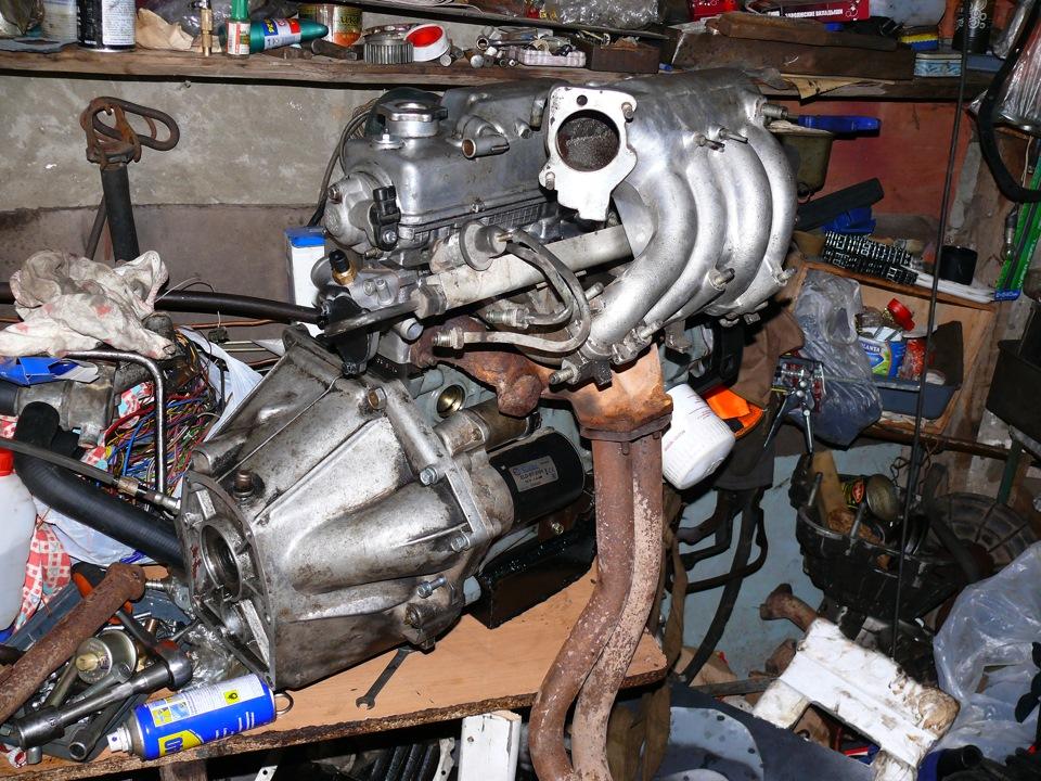 С чего подходит двигатель на москвич 412