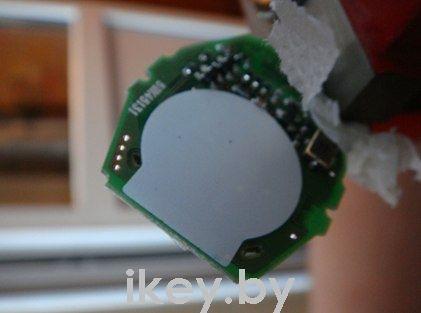 замена батарейки в ключе BMW e60