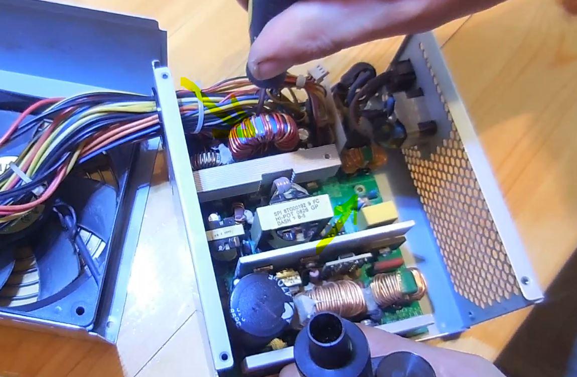 Как отремонтировать блок питания компьютер своими руками 523