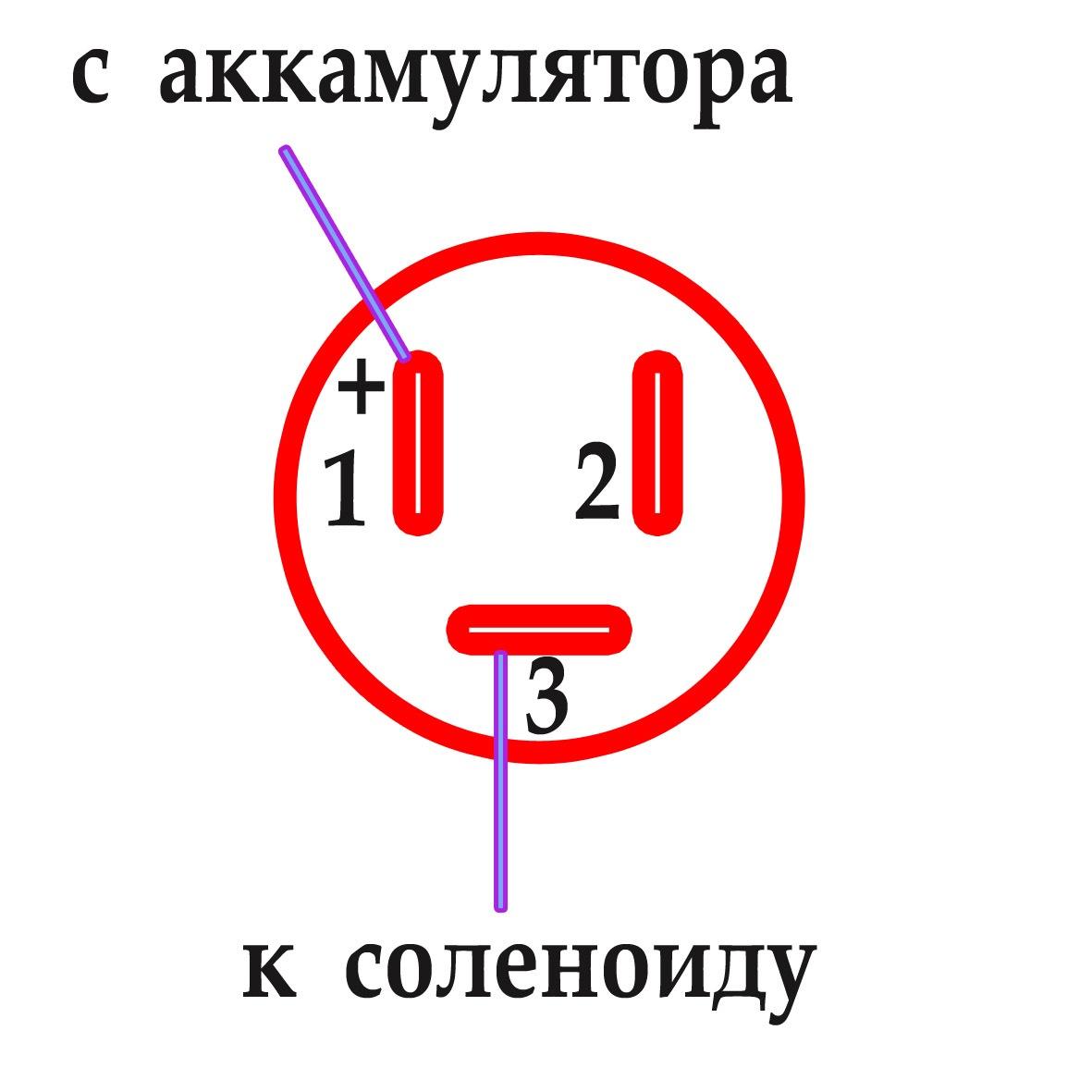 схема установки сигнализации на 2110