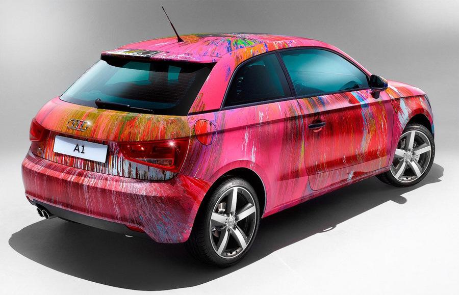 день дизайнерская покраска автомобиля фото русской мифологии есть