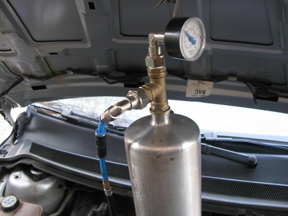 промывка форсунок форд фокус 2 своими руками