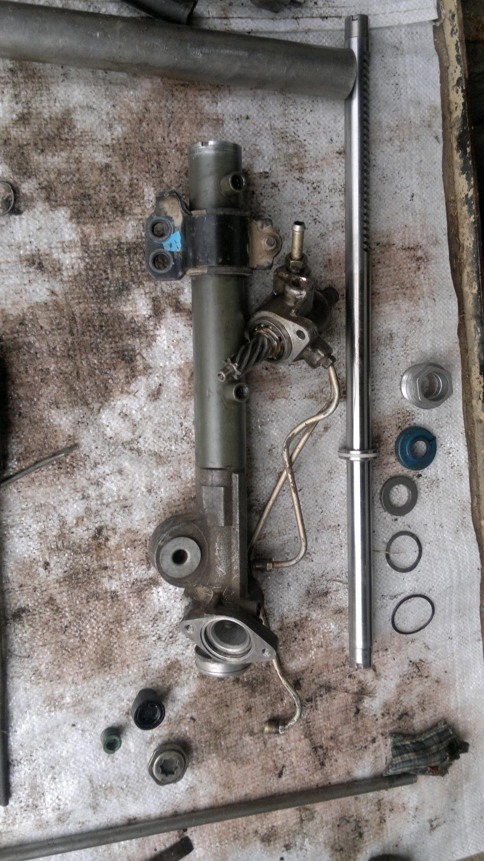Ниссан икстрейл ремонт рулевой рейки своими руками