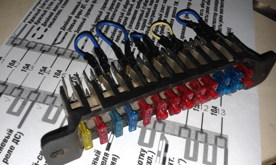 Сам блок электрических
