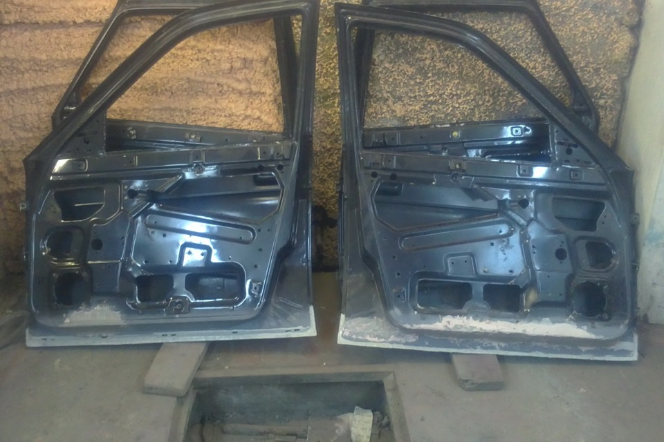 Фото №10 - ремонт дверей ВАЗ 2110