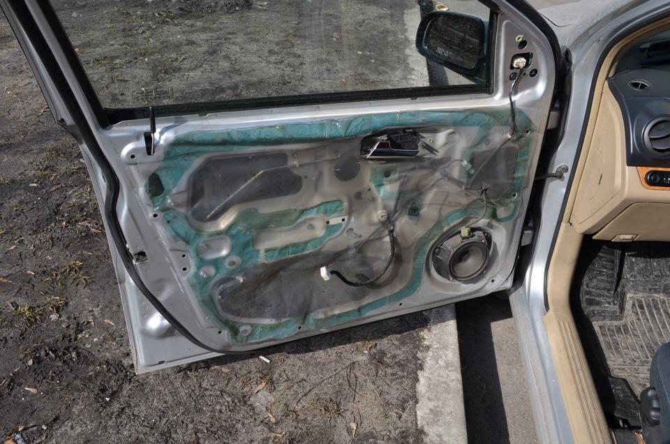 не открывается передняя дверь изнутри chevrolet spark