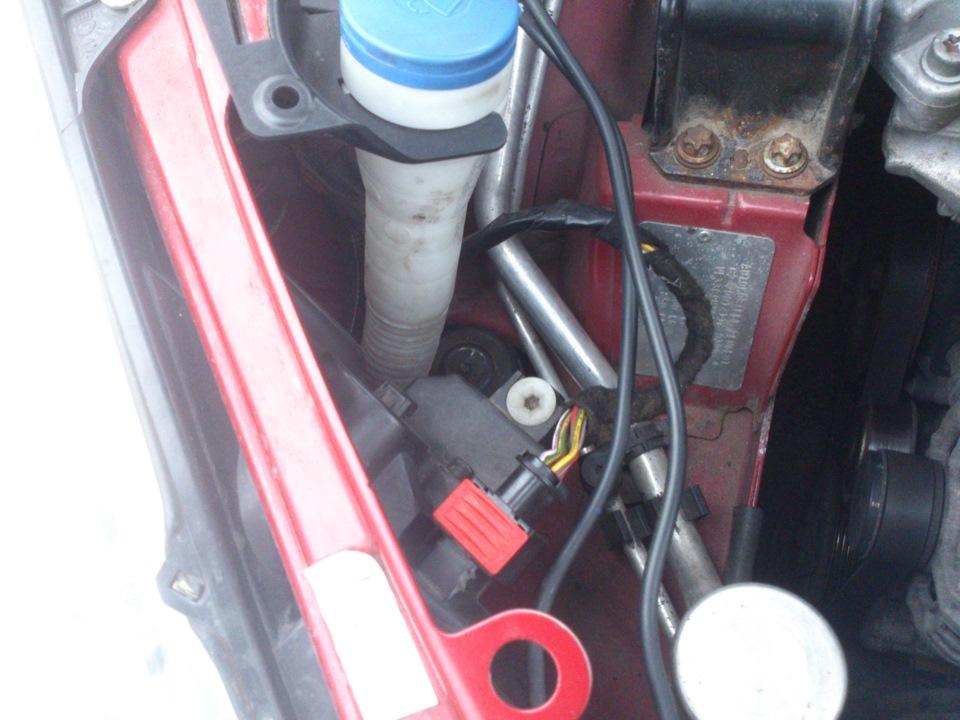 Замена жидкости ГУР пежо 307 Замена патрубка радиатора киа