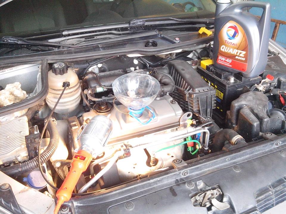 Замена масла в двигателе на пежо 308 своими руками 67