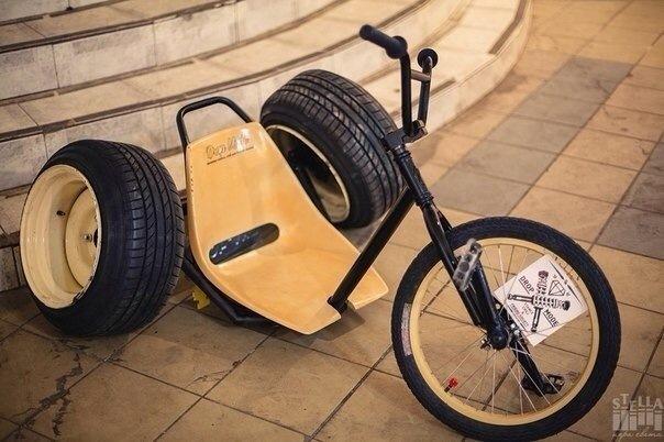 Как сделать трёхколёсный велосипед для дрифта своими руками