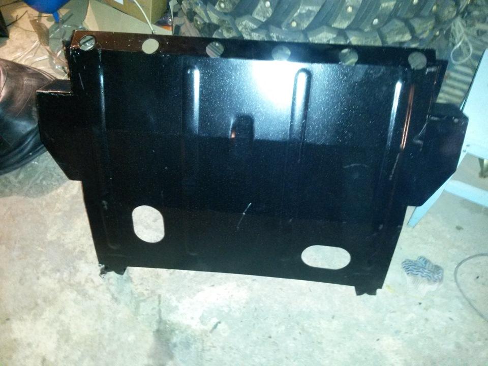 Фото №3 - защита поддона картера двигателя ВАЗ 2110