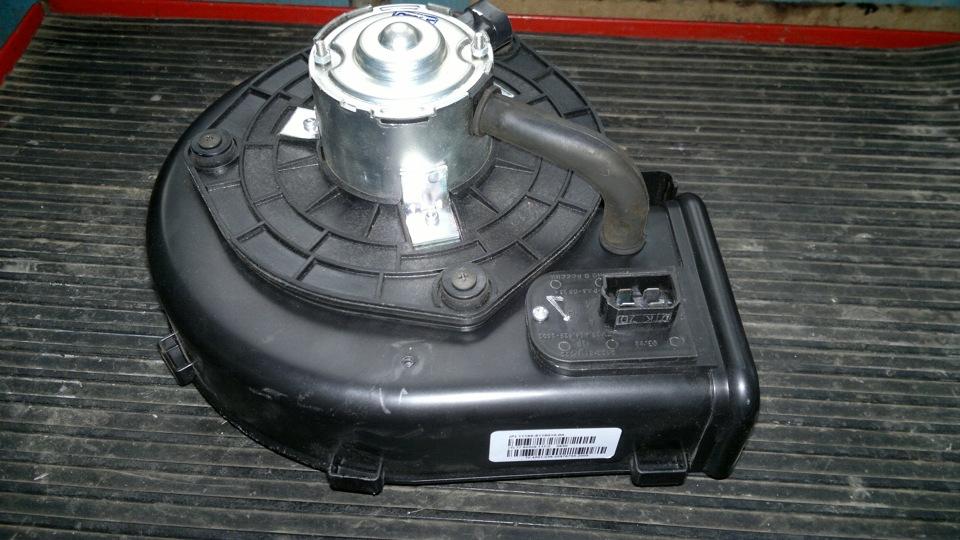 Замена мотора отопителя на лада калина