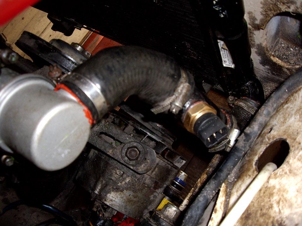 датчик включения вентилятора нива 21214 фото