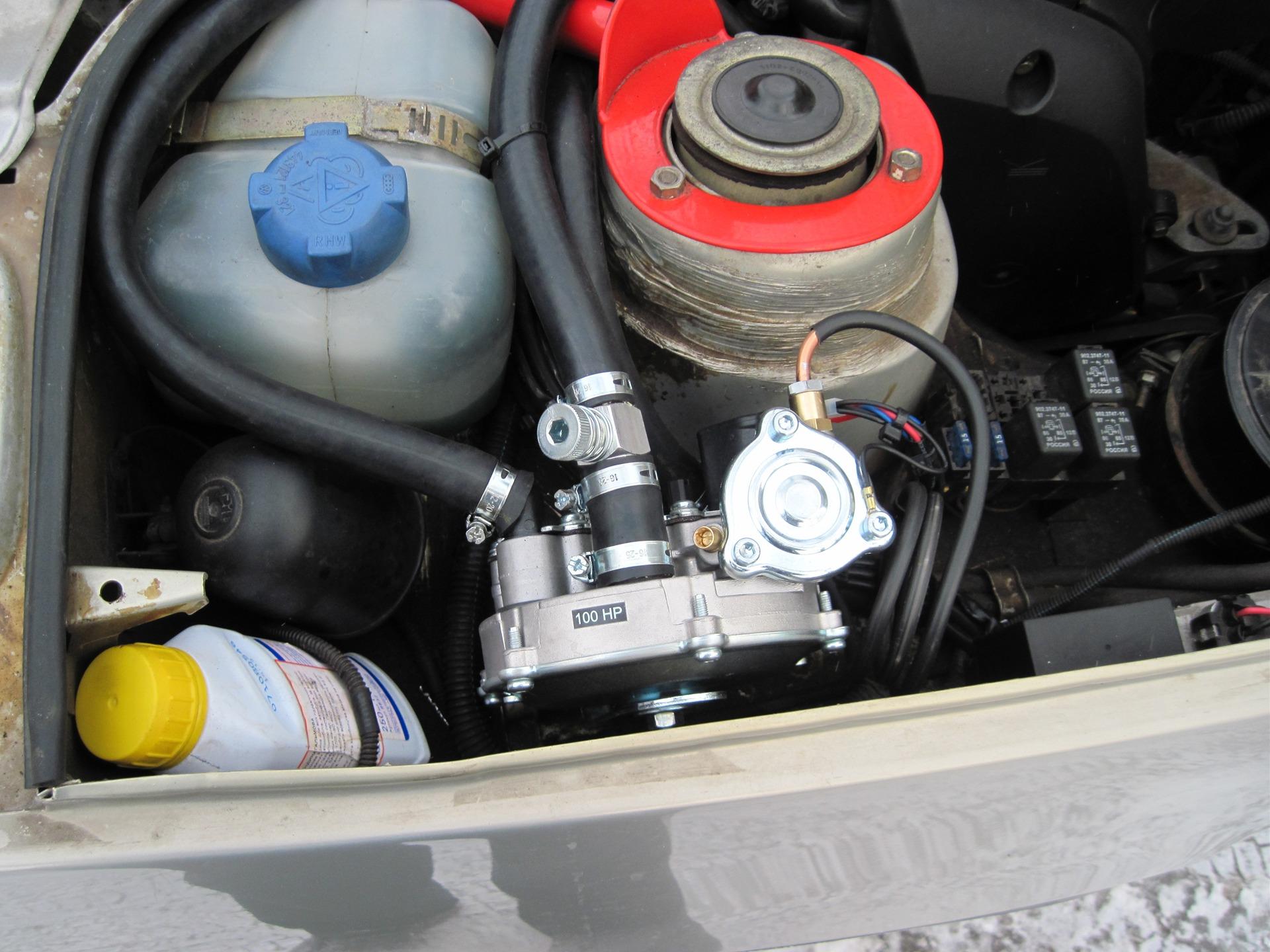схема подключения газового оборудования в газ