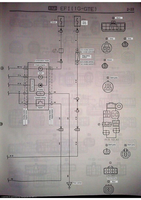 1uz-fe схема проводки