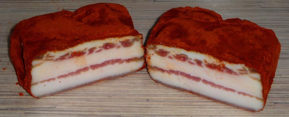 Сало с красным перцем рецепты