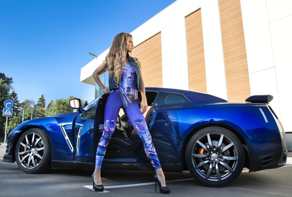 girl & nissan gtr — drive2