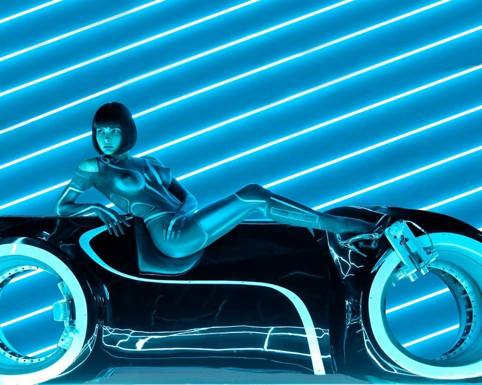Мотоцикл из фильма Tron бесплатно