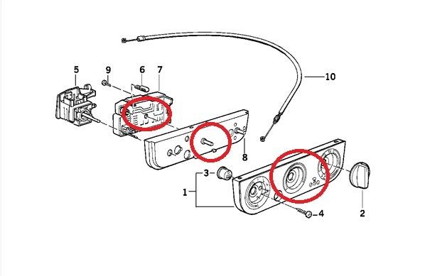 BMW e32 печка не выключается